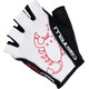 Castelli Rosso Corsa Classic Bike Gloves Men white/black